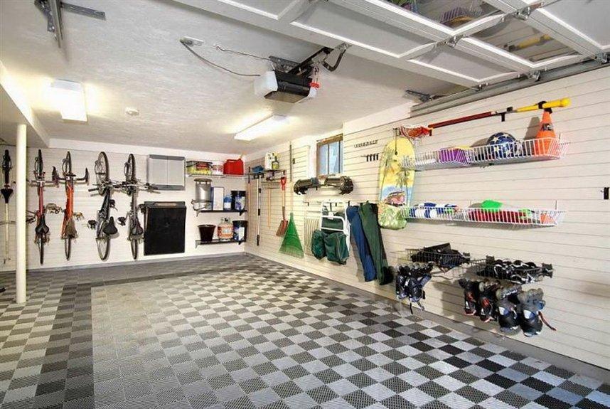 Самые крутые идеи организации пространства гаража