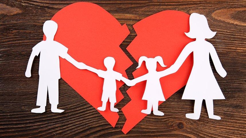 Как сказать о разводе детям