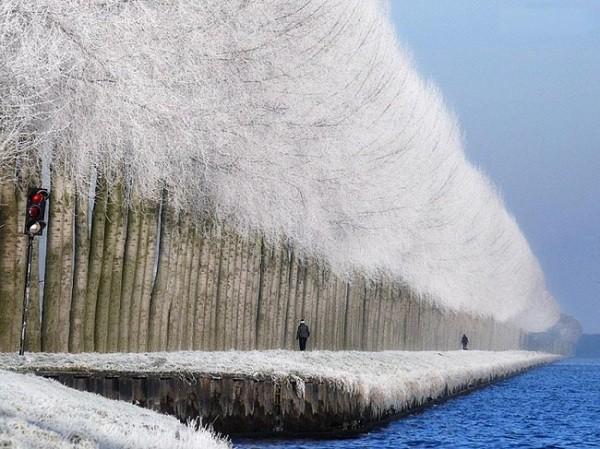 Зимняя Сербия