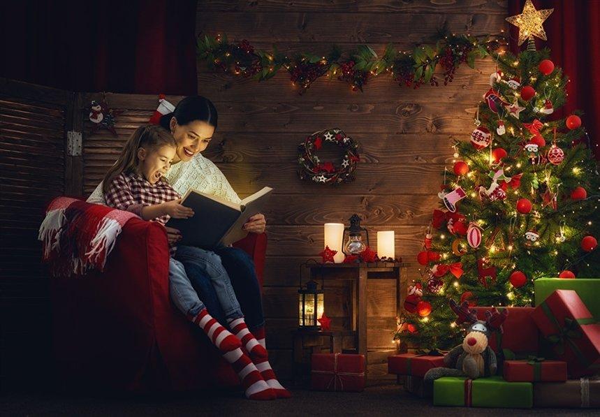 Новогодние книги для самых маленьких