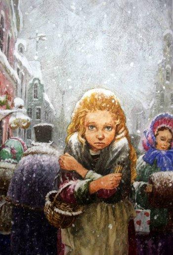 «Девочка со спичками», Ханс Кристиан Андерсен