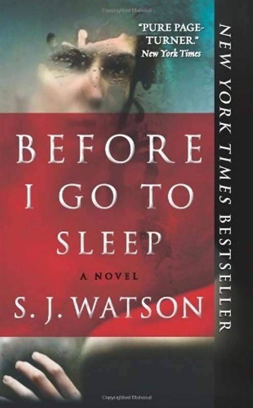 «Прежде, чем я пойду спать», С.Дж. Уотсон