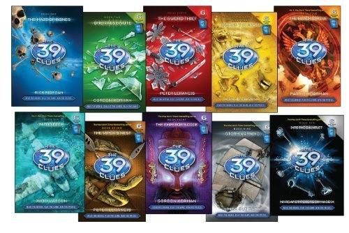 Серия «39 ключей», Рик Риордан
