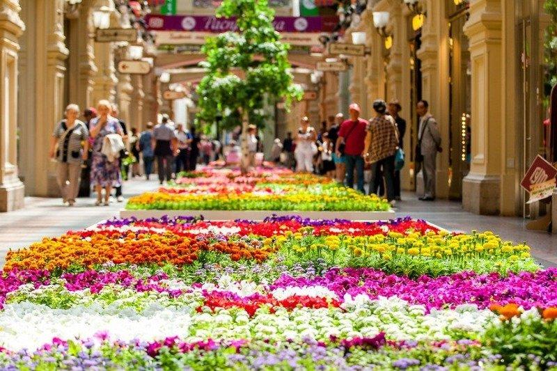 Фестиваль цветов ГУМ