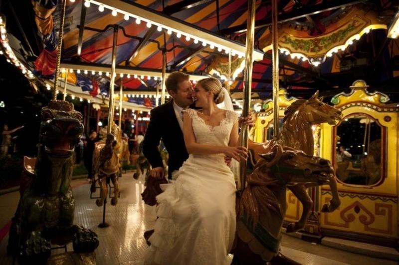 они свадебная фотосессия в парке аттракционов спел написать