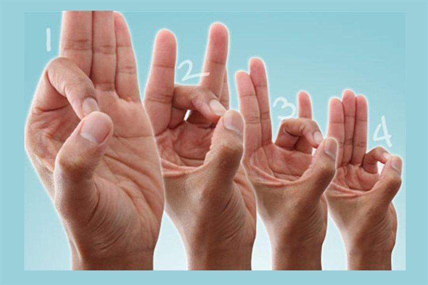 Касание пальцами