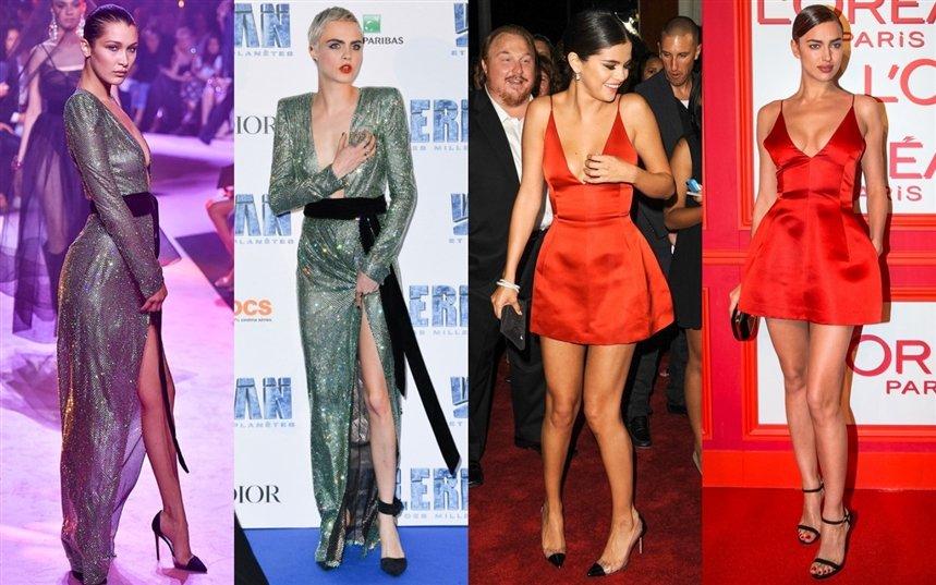 Знаменитости в одинаковых нарядах