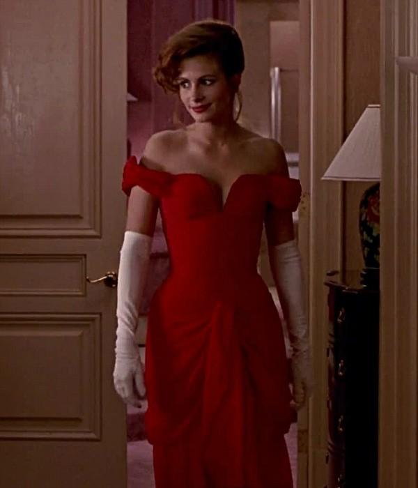 4. Джулия Робертс «Красотка», 1990