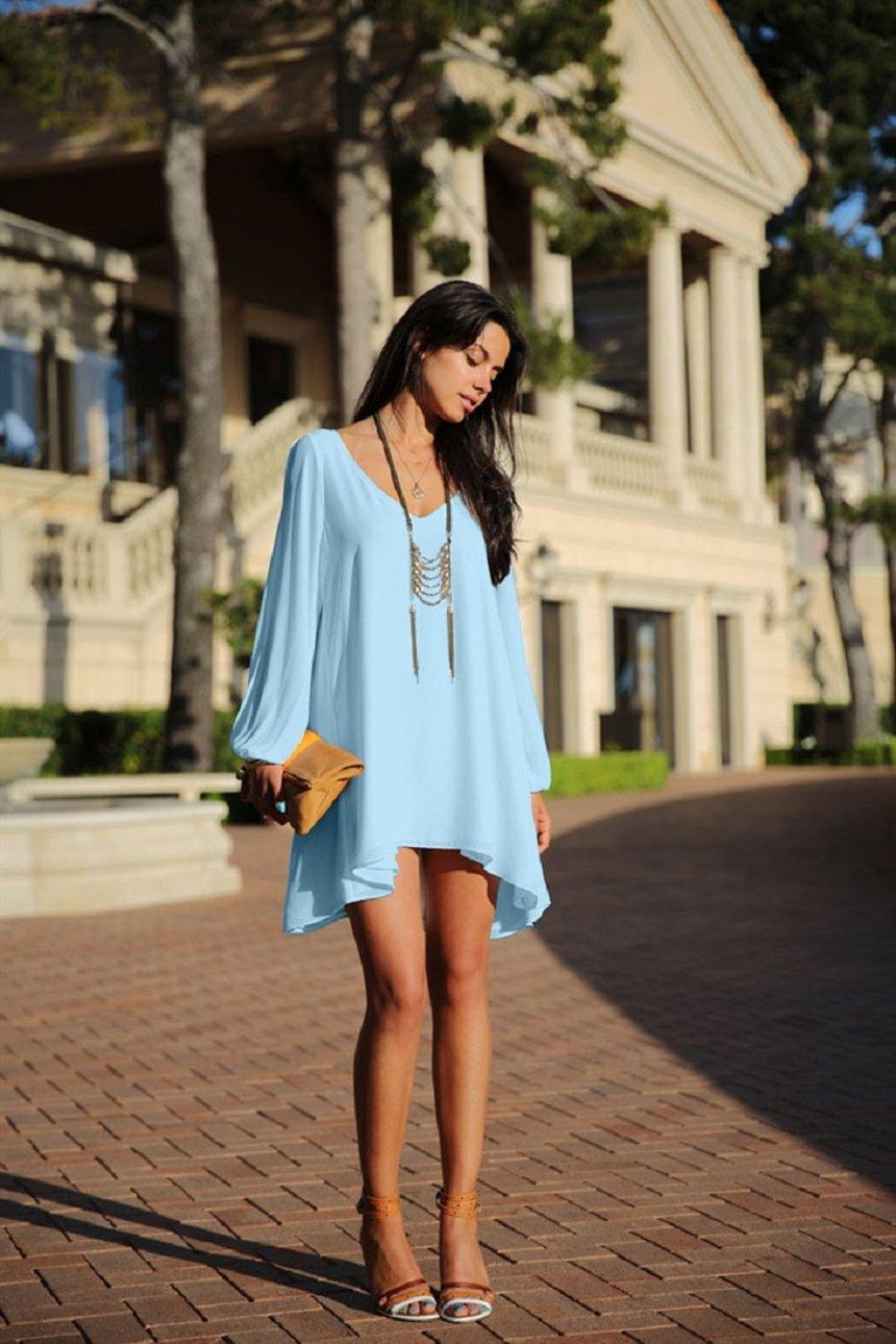 красивые платья туники с чем носить фото человек получился
