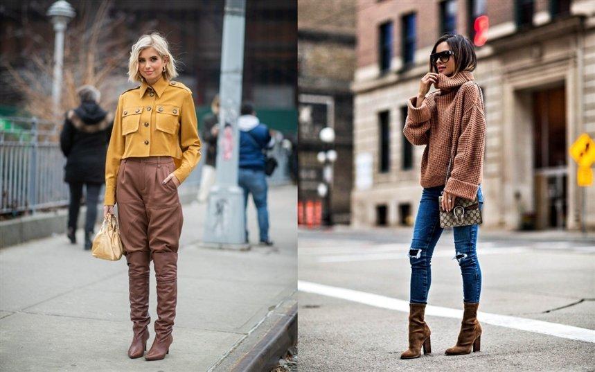 Мода осени и зимы