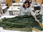 Роскошный зеленый халат Скарлетт