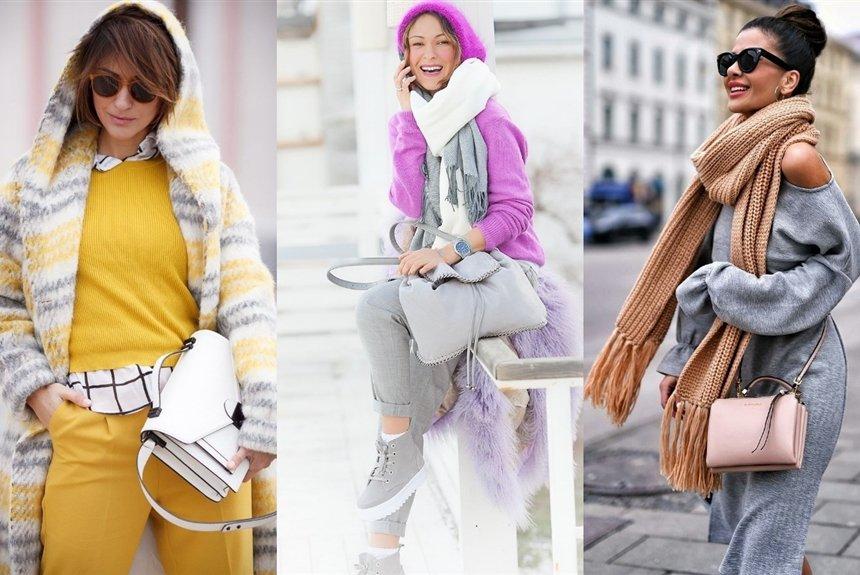 С чем носить серые вещи: 20 стильных сочетаний зимы