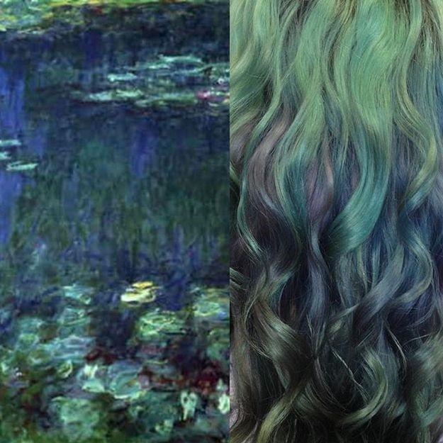 Клод Моне Водные лилии