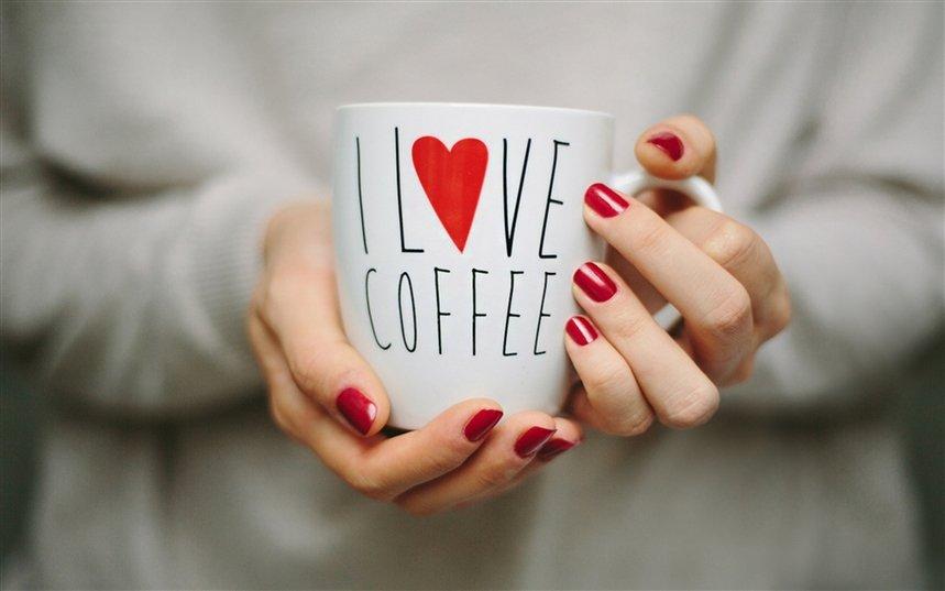 Маникюр для любителей кофе