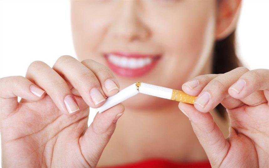 Потемнение ногтей от курения