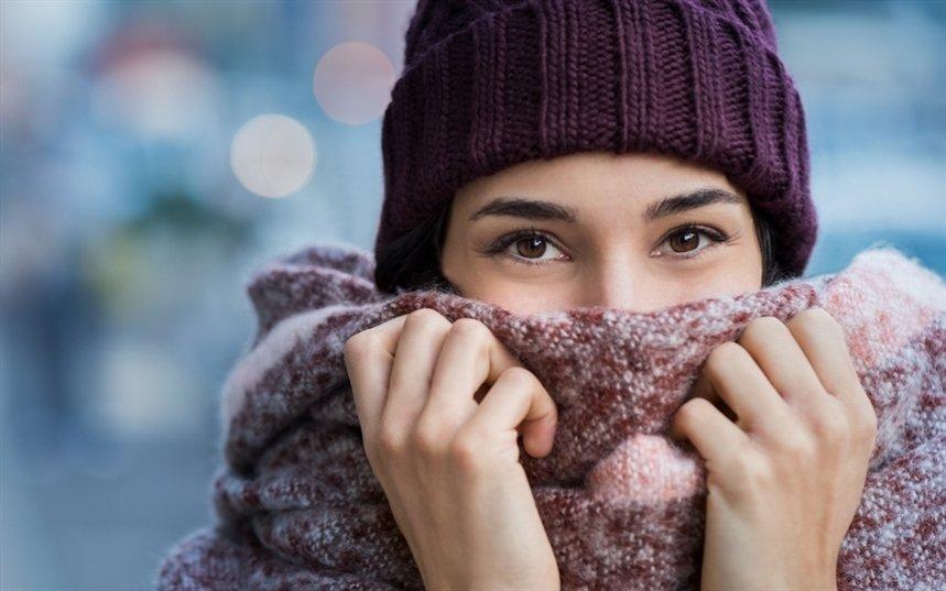Защита лицо от холода