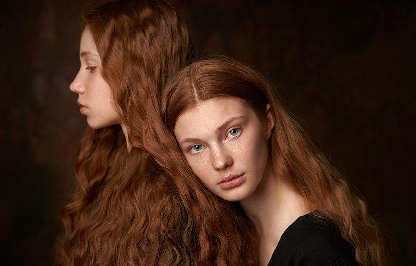 Окрашивание волос природными красителями