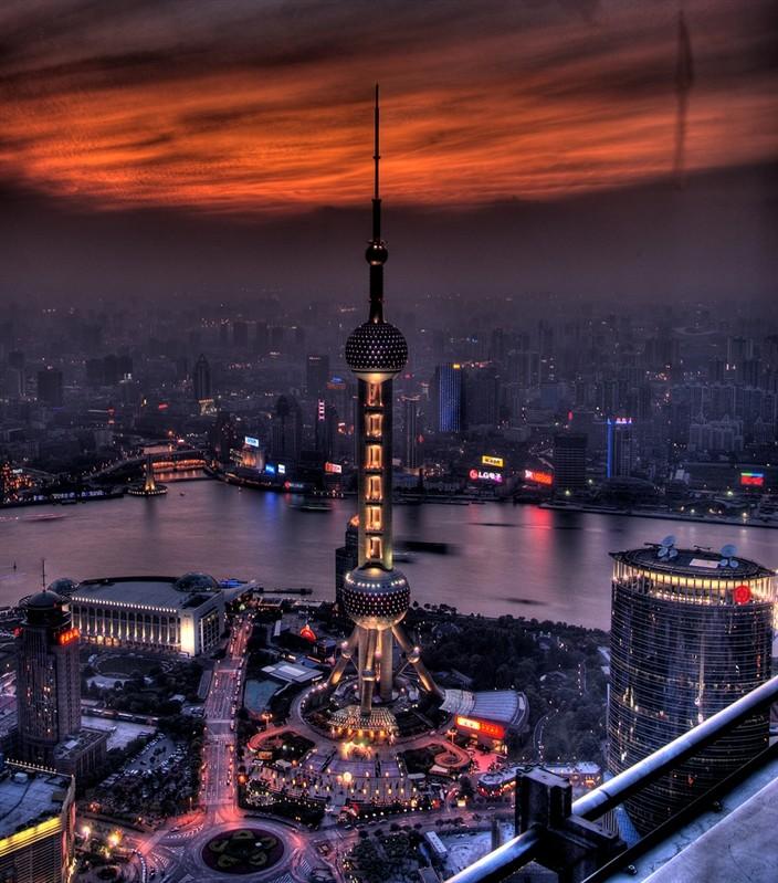 Шанхай - телебашня