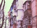Пестрые балконы