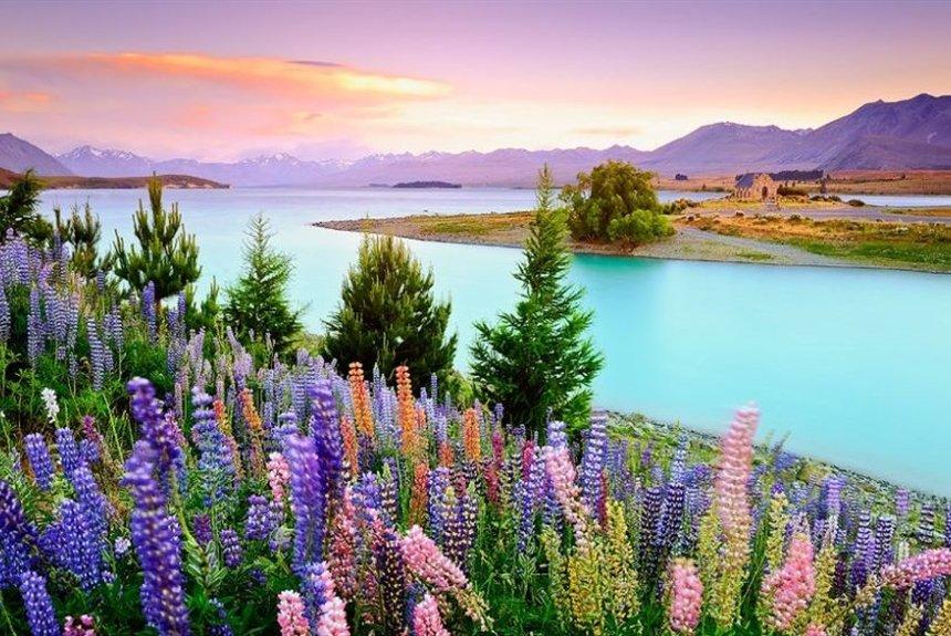 15 самых красивых мест Новой Зеландии