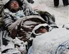 Активисты в снегу