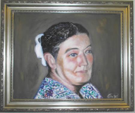 Превращение праха ваших любимых в портрет