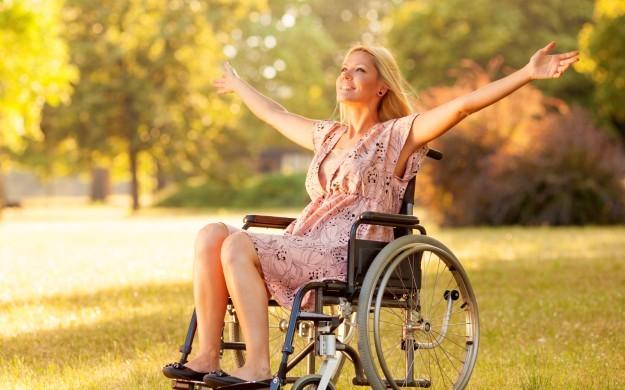 Танец на коляске