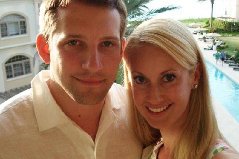 Кирстен с мужем