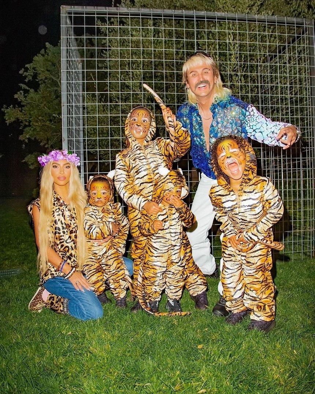 Ким Кардашьян – тигрица